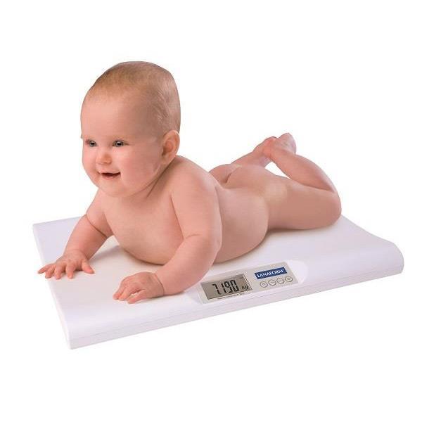 Ważenie noworodka - Lanaform Baby Scale