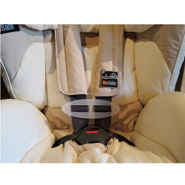 Łącznik szelek bezpieczeństwa fotelika samochodowego