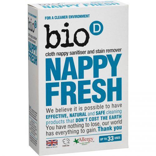 Bio-D, Nappy Fresh Dodatek Antybakteryjny do Prania Pieluch,