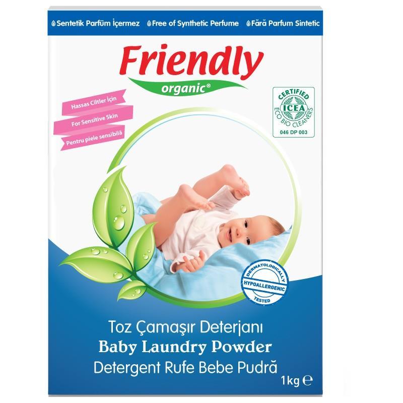 Friendly Organic, Proszek do prania ubranek dziecięcych,