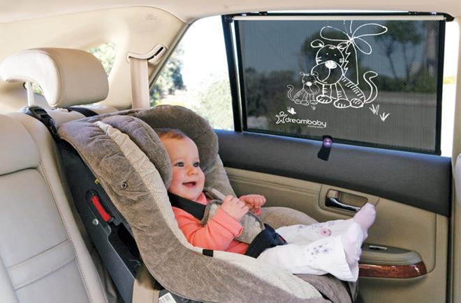 Bezpieczna podróż z dzieckiem z produktami Dreambaby